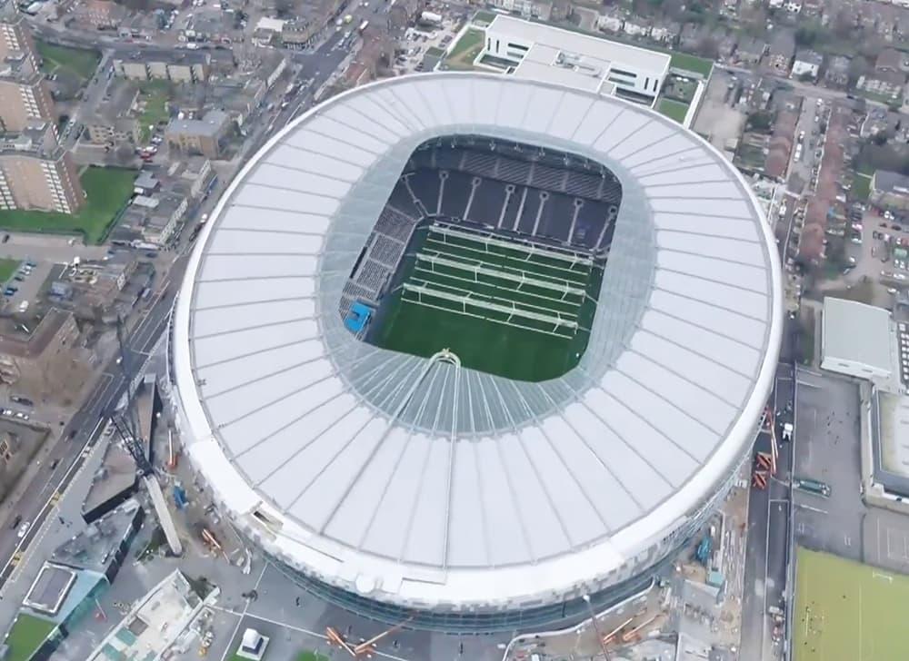 Tottenham Hotspurs New Stadium Complete